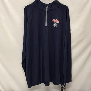 AUBURN UNDER ARMOUR LIGHTWEIGHT 1/4 zip Pullover